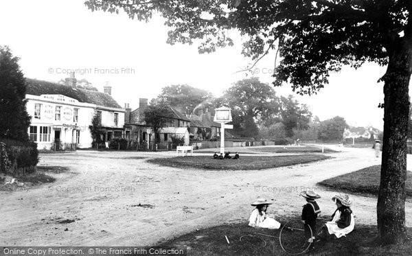 Photo of Yateley, Village 1906