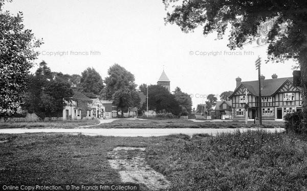 Photo of Yateley, Village 1924