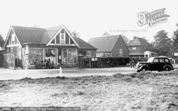 Photo of Yateley, Village Post Office c.1950