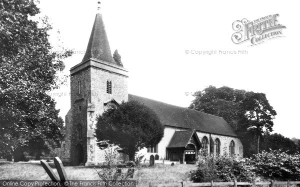 Photo of Yattendon, Church Of St Peter And St Paul c.1960