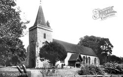 Yattendon, Church Of St Peter And St Paul c.1960