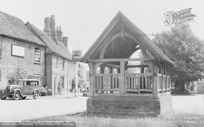 Photo of Yattendon, The Village Well c.1950
