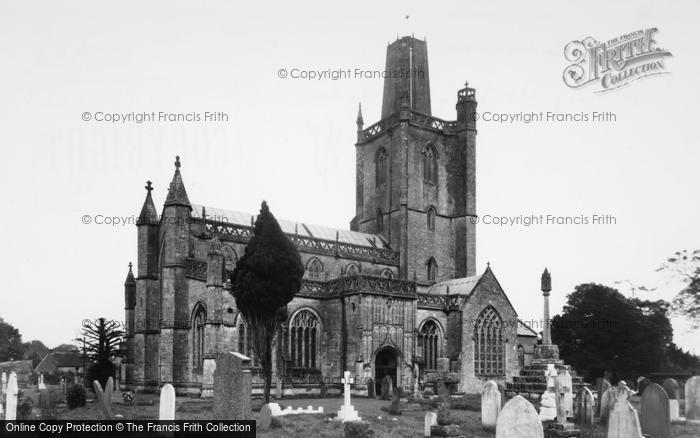 Photo of Yatton, Church Of St Mary The Virgin c.1955