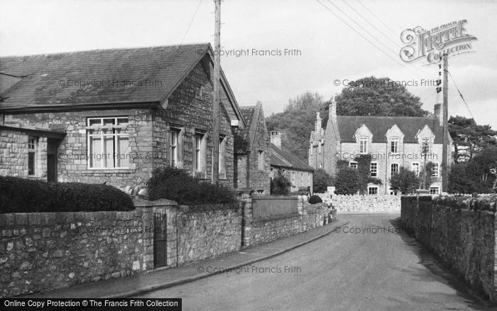Photo of Yatton, Church Road c.1955