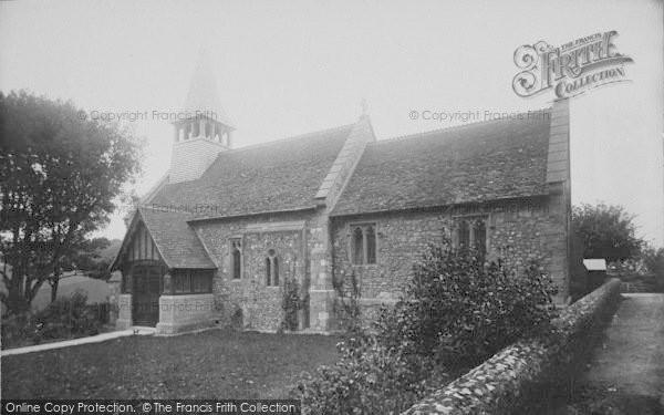 Photo of Yaverland, St John The Baptist Church 1893