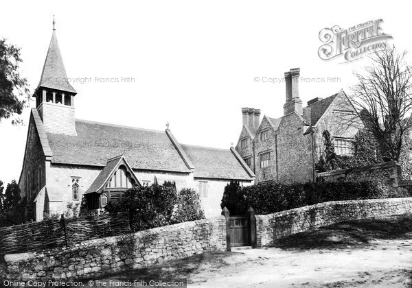 Photo of Yaverland, St John The Baptist Church And Manor House c.1890