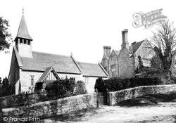 Yaverland, St John The Baptist Church And Manor House c.1890