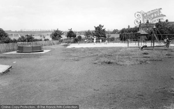 Photo of Yeadon, Children's Playground At The Tarn c.1965
