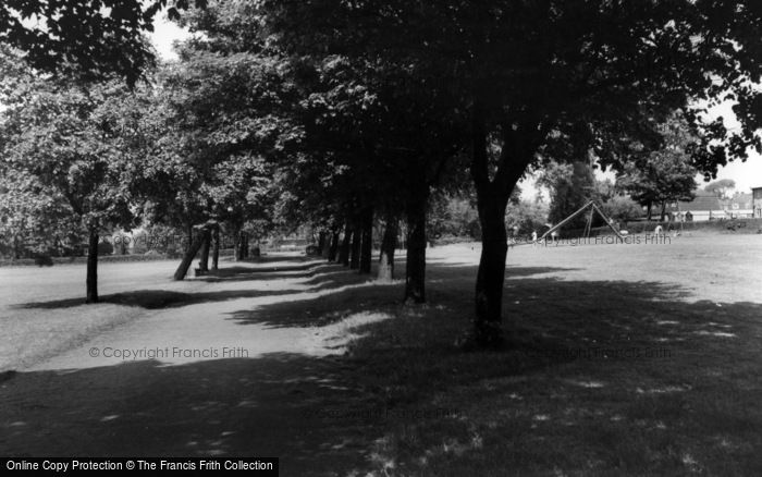 Photo of Yeadon, Yeadon Park c.1965