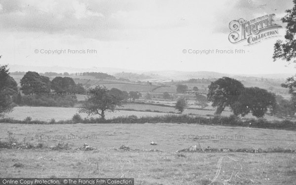 Photo of Yealand Conyers, A View From The Village c.1955