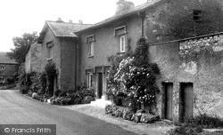 Cottages, Main Street c.1955, Yealand Redmayne