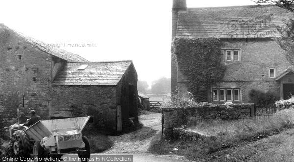 Photo of Yealand Redmayne, Storrs Farm c.1955
