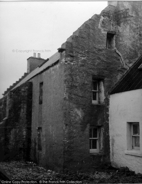 Photo of Yell, Old Hall Of Brough 1954