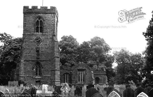 Photo of Yelvertoft, All Saints Church c.1955