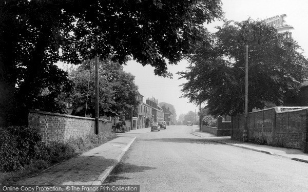 Photo of Yelvertoft, Main Road c.1955