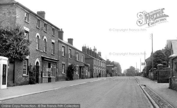 Photo of Yelvertoft, Post Office And Main Road c.1955