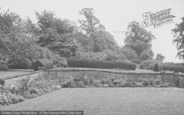 Photo of Yelvertoft, The Manor House Gardens c.1955