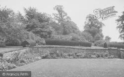Yelvertoft, The Manor House Gardens c.1955