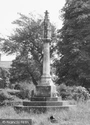Yelvertoft, The Memorial, Main Road c.1955