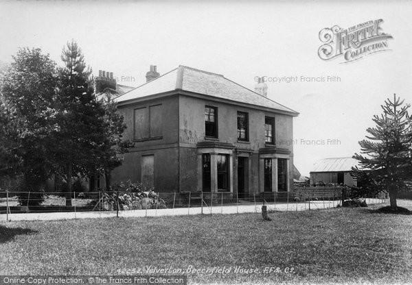 Photo of Yelverton, Beechfield House 1898