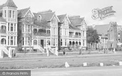 Yelverton, Devon Tors Hotel c.1955