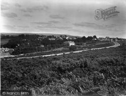 Yelverton, From Roborough Down 1934