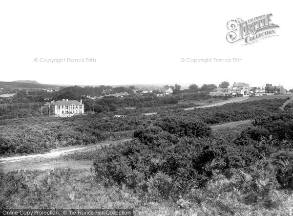 Photo of Yelverton, From Roborough Down 1935