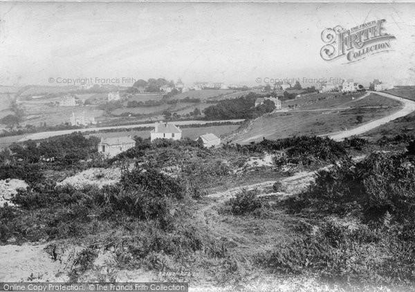 Photo of Yelverton, From Roborough Rocks 1893