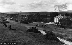 Yelverton, On Tavistock Road 1935