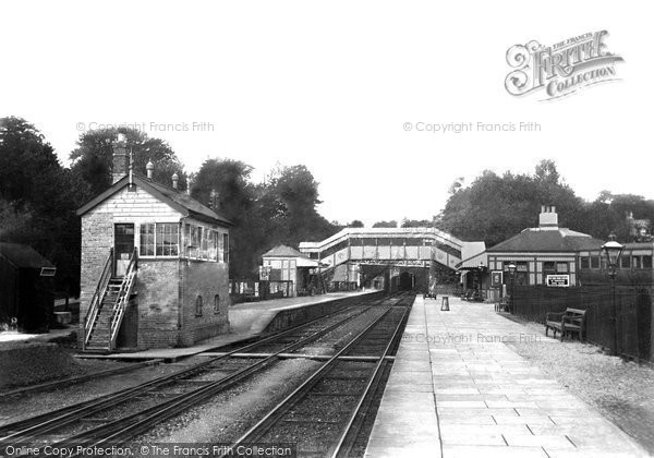 Photo of Yelverton, Railway Station 1906