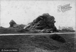 Yelverton, Roborough Rocks 1893