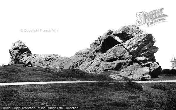 Photo of Yelverton, Roborough Rocks 1898