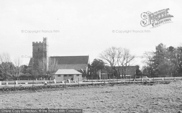 Photo of Yelverton, St Paul's Church c.1955