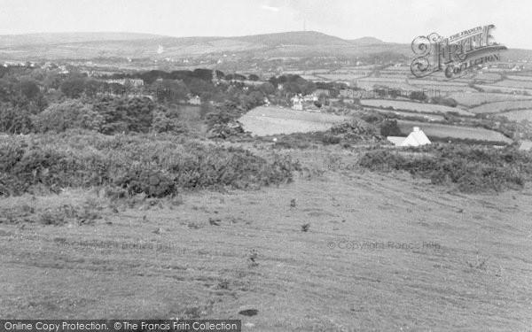 Photo of Yelverton, The Moor c.1955
