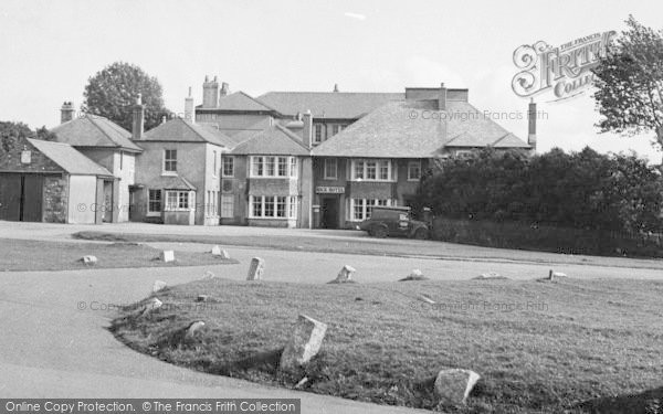 Photo of Yelverton, The Rock Hotel c.1955