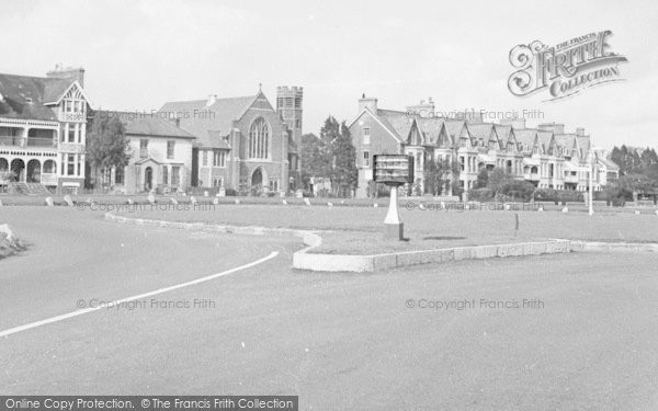 Photo of Yelverton, The Roundabout c.1955
