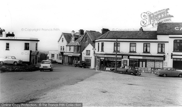 Photo of Yelverton, The Village c.1965