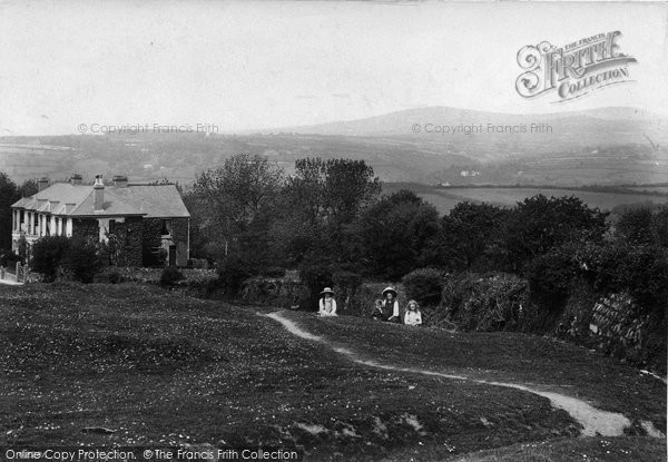 Photo of Yelverton, View From Village 1910