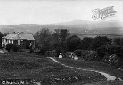 Yelverton, View From Village 1910