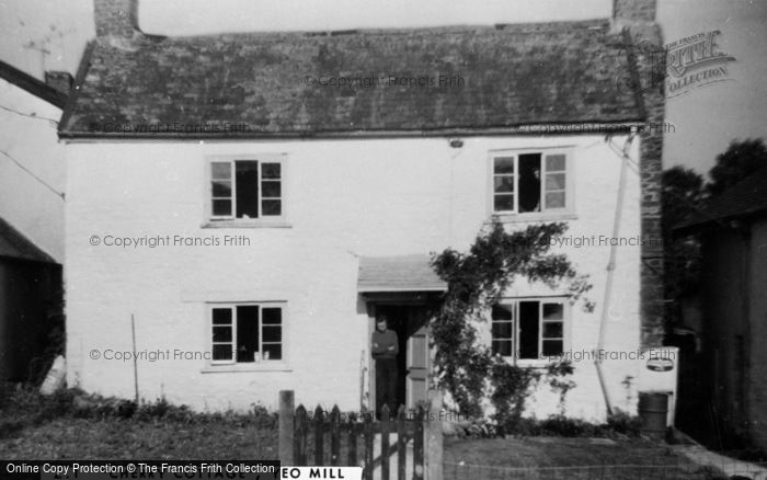 Photo of Yeo Mill, Cherry Cottage c.1955