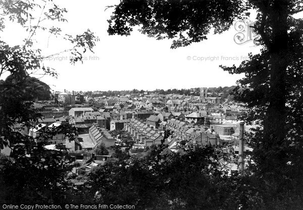 Photo of Yeovil, A Peep Through The Trees c.1955