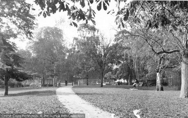 Photo of Yeovil, Bides Garden c.1955