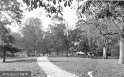 Yeovil, Bides Garden c.1955