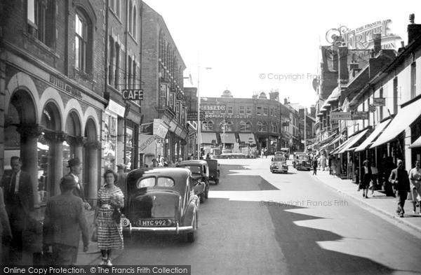 Photo of Yeovil, c.1955