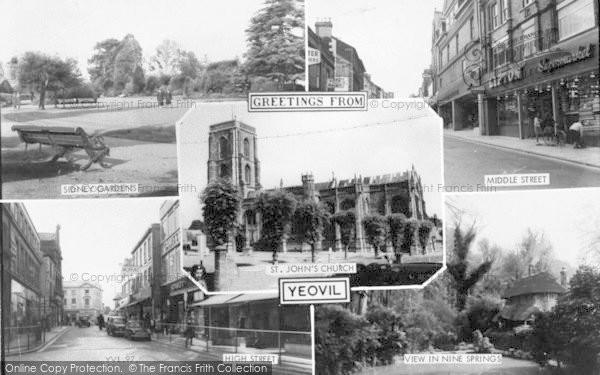 Photo of Yeovil, Composite c.1960