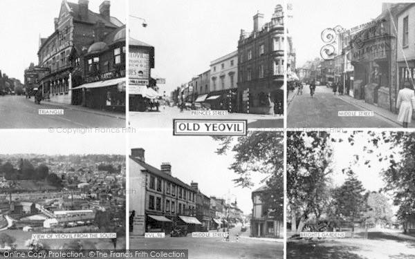 Photo of Yeovil, Composite c.1965