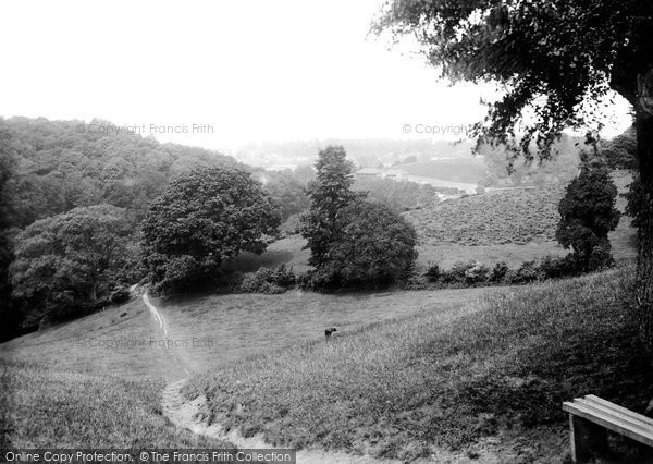 Photo of Yeovil, From Constitution Hill 1912