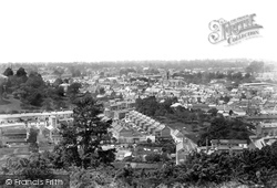 Yeovil, From Summer House Hill 1900