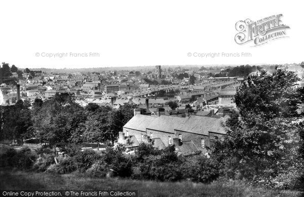 Photo of Yeovil, From Windmill Hill 1900
