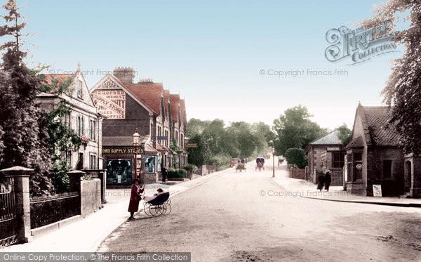 Photo of Yeovil, Hendford Hill 1912
